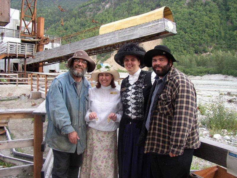 Gold Dredge Skagway Alaska