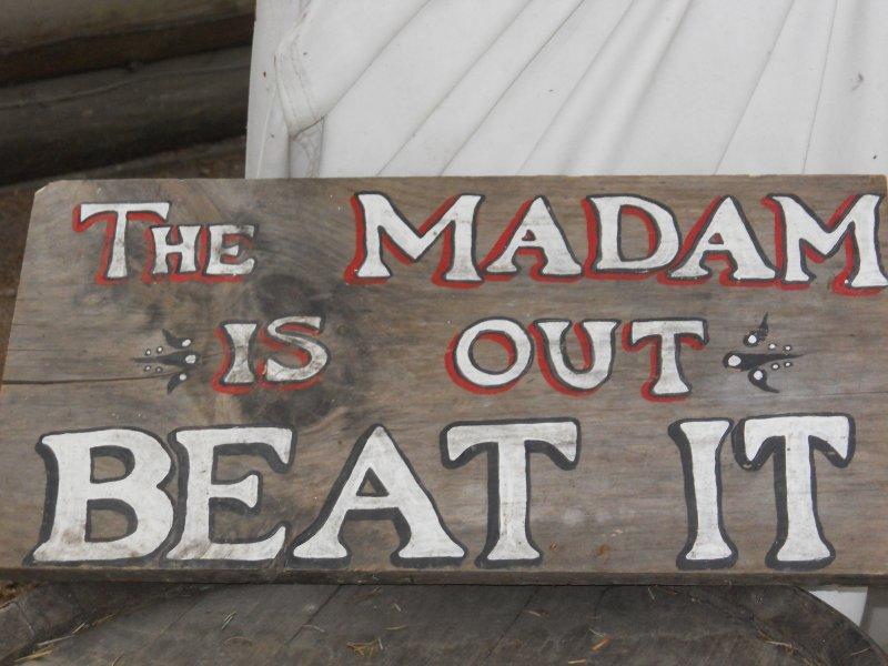 Signs in Skagway