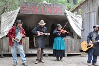 Band in Skagway Alaska