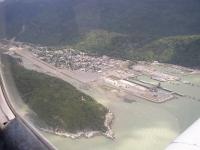 Skagway. Alaska Airline View