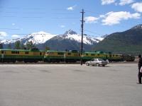 Diesel Train Skagway