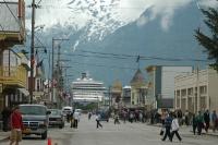 Boats in Skagway Alaska