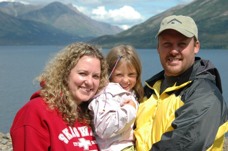 Family in Skagway Alaska