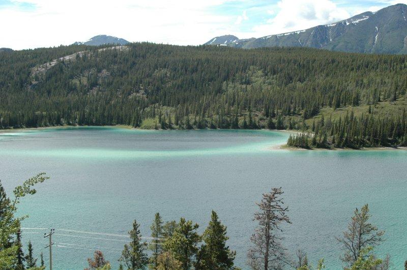Emerald Lake near Skagway