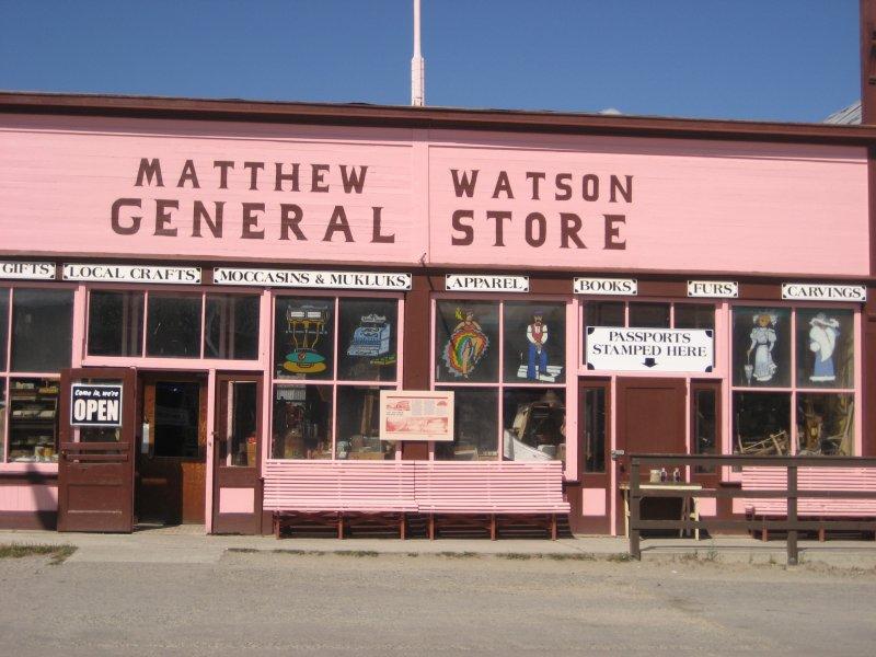 Matthew Watson General Store Carcross