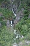 Waterfalls from Skagway Summit Tour